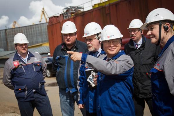 Генеральный директор МАГАТЭ посетил Балтийский завод