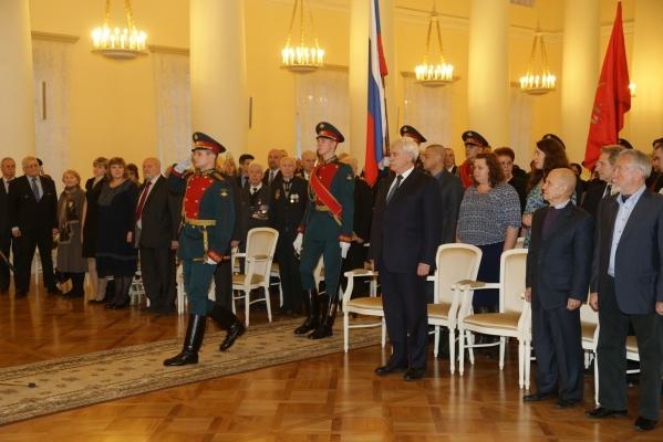 Пять балтийцев награждены медалями  Ордена «За заслуги перед Отечеством» II степени