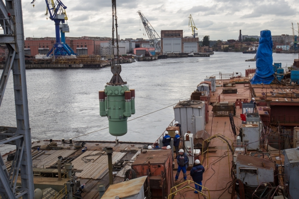 На «Арктику» установлен атомный реактор